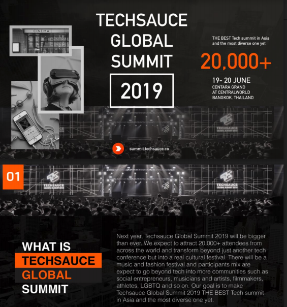 TECHSAUCE GLOBAL SUMMIT 2019「JAPAN PAVILION」